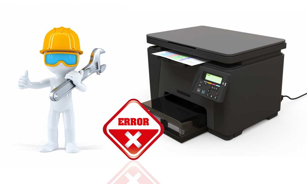 Epson printer is in an error state
